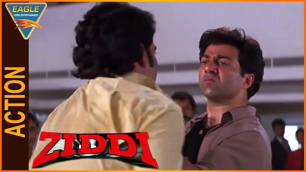 Cool Ziddi Hindi Movie Sunny Deol Superb Action Scene Eagle