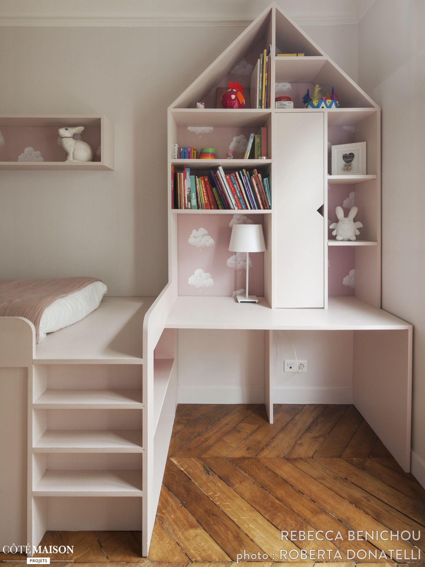 une chambre de r ve pour une petite fille chambres enfants pinterest chambre de r ve. Black Bedroom Furniture Sets. Home Design Ideas
