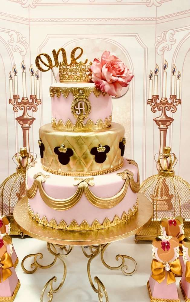 Minnie Mouse Royal Princess Birthday Party Ideas In 2019