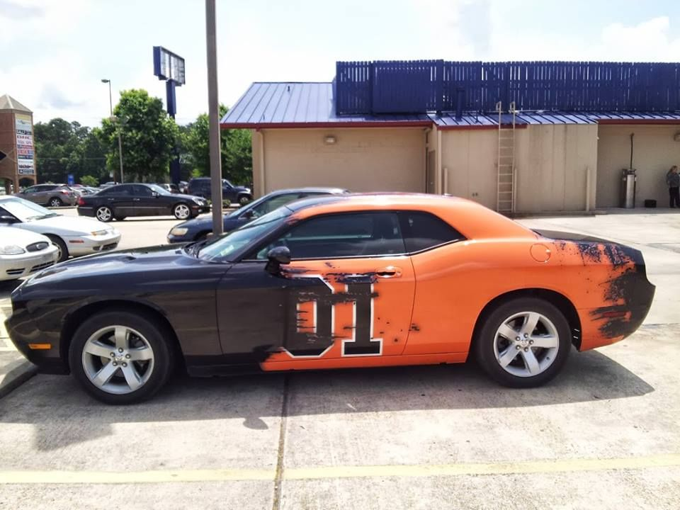 Cool paint job on a new challenger awesome galleries