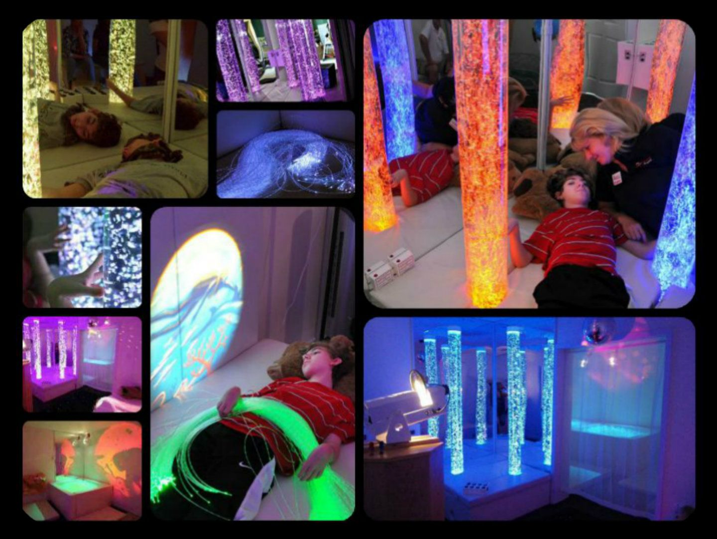 MultiSensory Room Helps Special Needs Children Cope