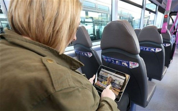 Public Buses Lure Riders With On-Board Augmented Reality Entertainment - PSFK