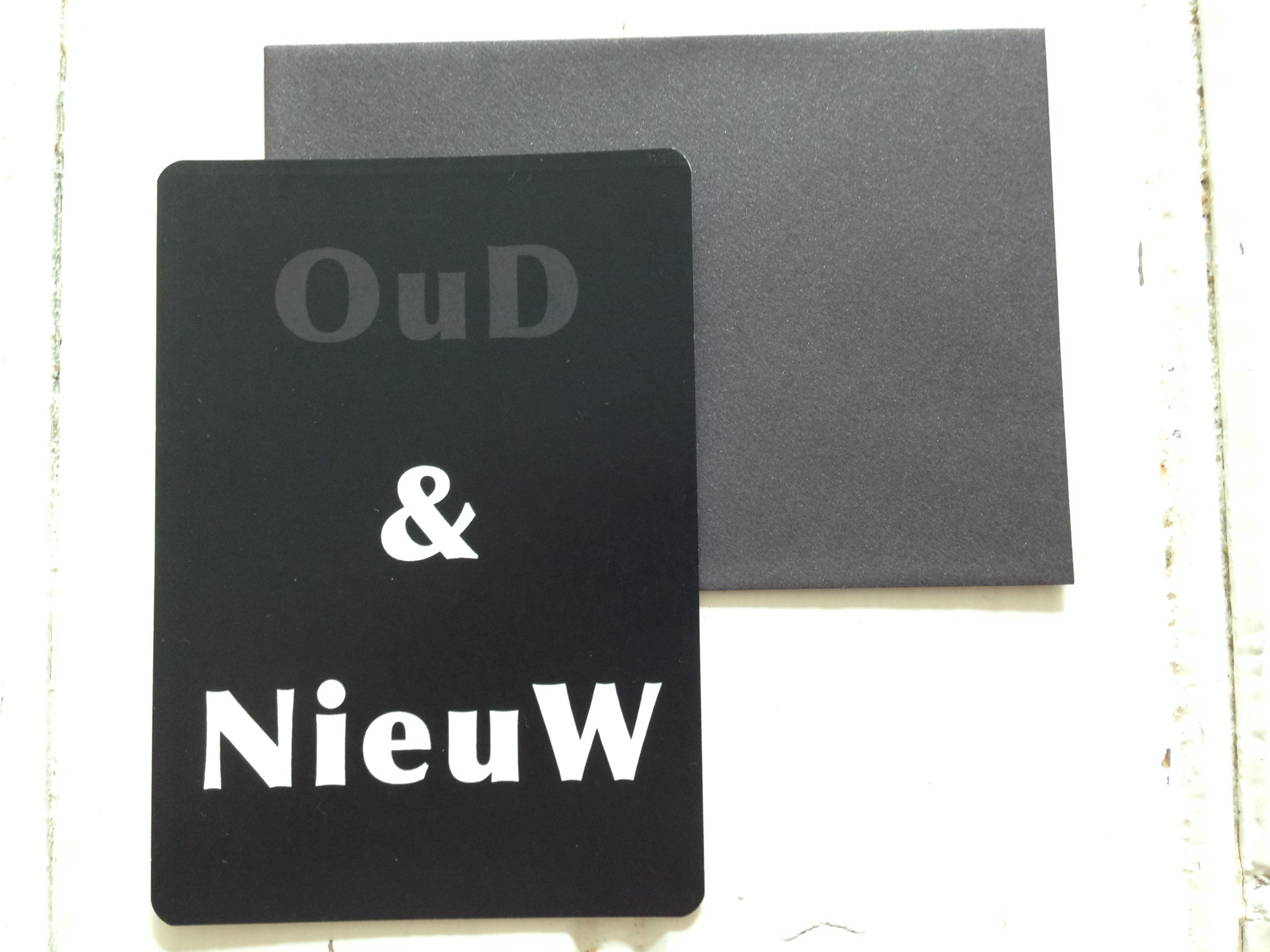 'Oud en Nieuw'