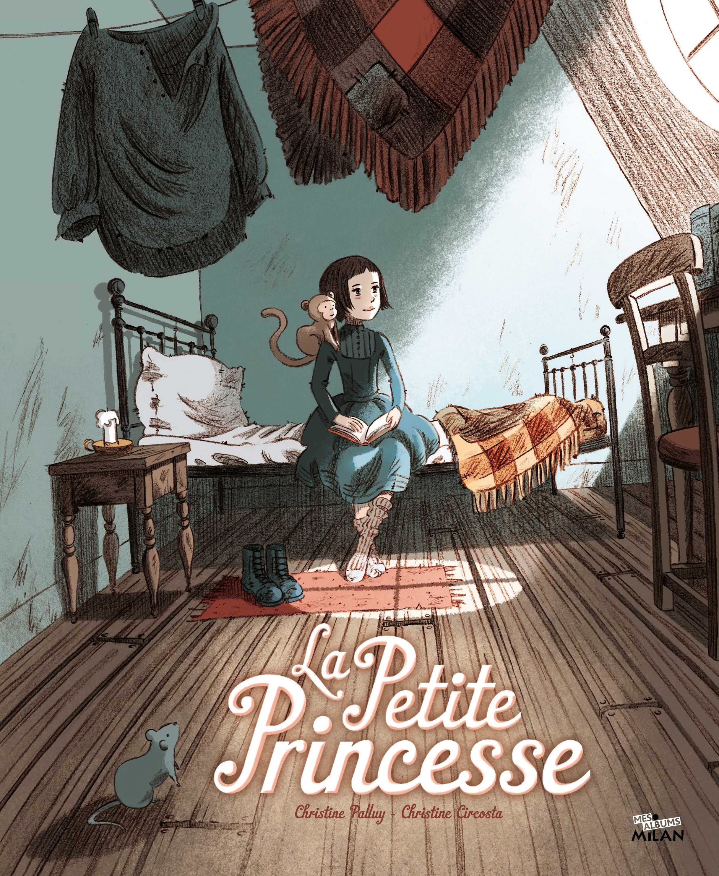 La Petite Princesse D Apres Le Celebre Roman De Frances H Burnett Adapte Par Christine Palluy Et Illustre Par Christine Anime Movies Anime Films Funny Films