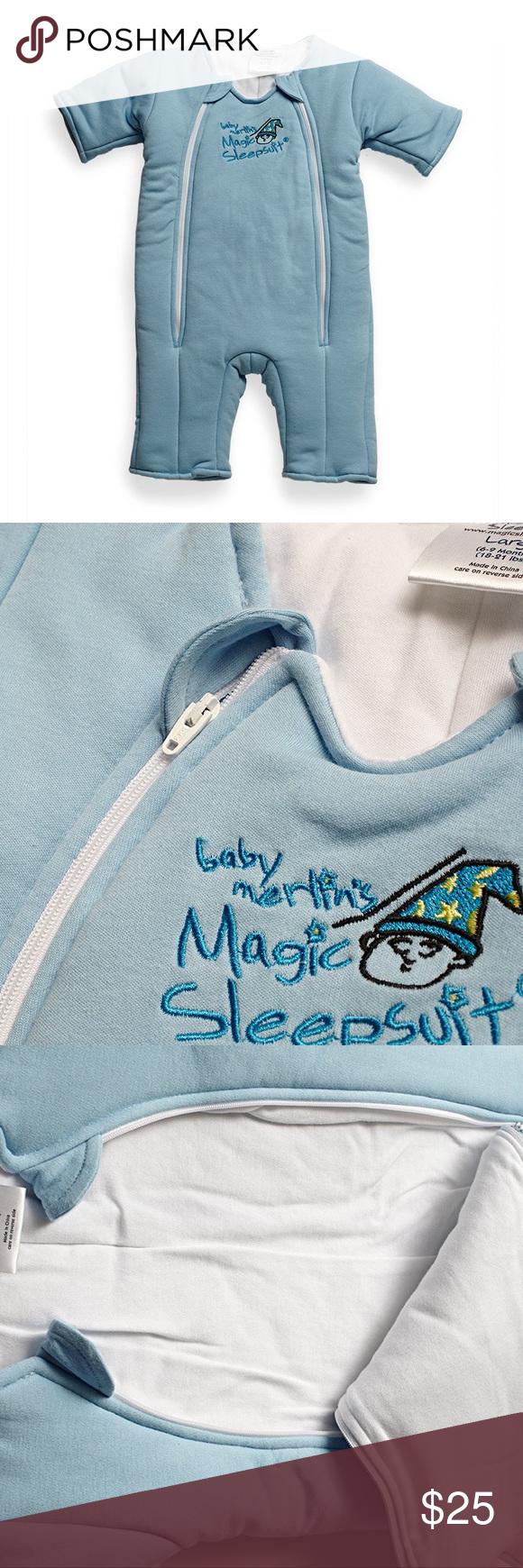 Baby Merlin's Magic Sleep Suit Features & details The ...