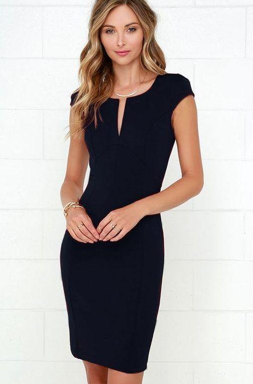 +35 ideas de looks con Vestidos Negros ¡Arma outfits increíbles!
