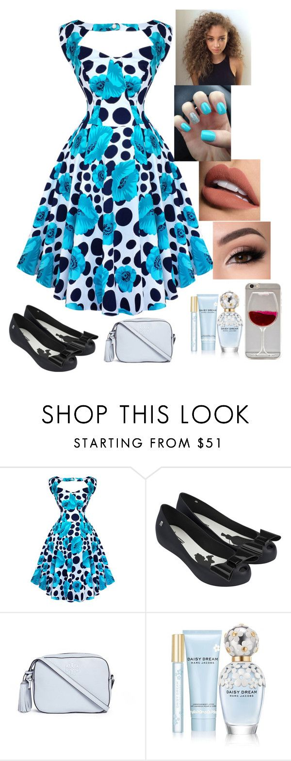 """Untitled #1"" by keelagirl on Polyvore featuring Melissa, Tory Burch, Marc Jacobs and Sephora Collection"