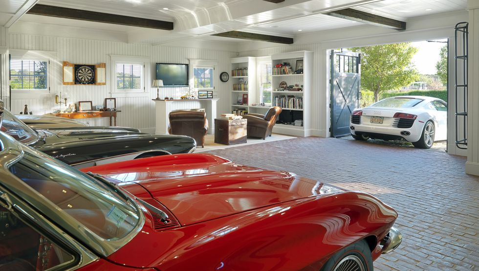 Garage Fabulous Classic Cars Inside One Car Garage Designs That