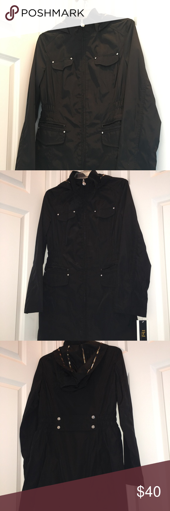 Jacket Laundry By Design Lbd Nwt With Images Jackets Clothes Design Hooded Raincoat