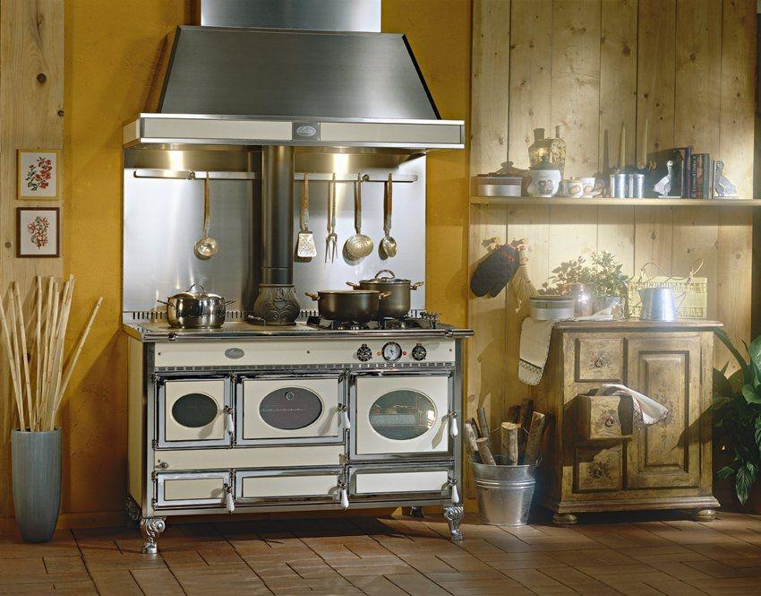 WOW. wood burning range cooker / boiler CASCINA 140LGE J