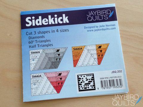 Introducing the Sidekick! | Jaybird Quilts
