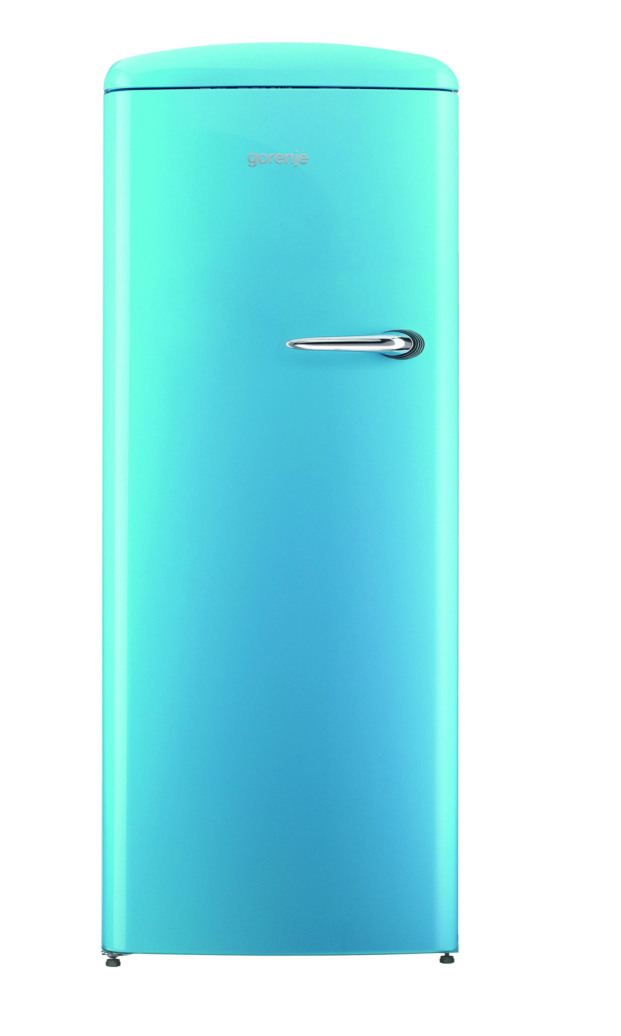 Gorenje Retro ORB153BL-L Refrigerator - Baby Blue - cut out ...