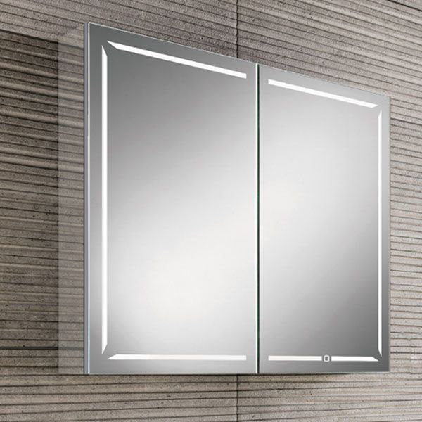 HiB Groove 80 Illuminated Bluetooth Bathroom Cabinet 700mmH X ...