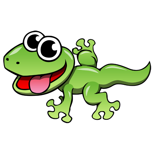 Cartoon Lizard Clip Art | Cartoon Leopard Gecko Photo ... Cute Reptiles Clipart