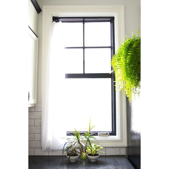22 Decor Ideas In Black Painted Window Frames Window Painting Bathroom Window Glass