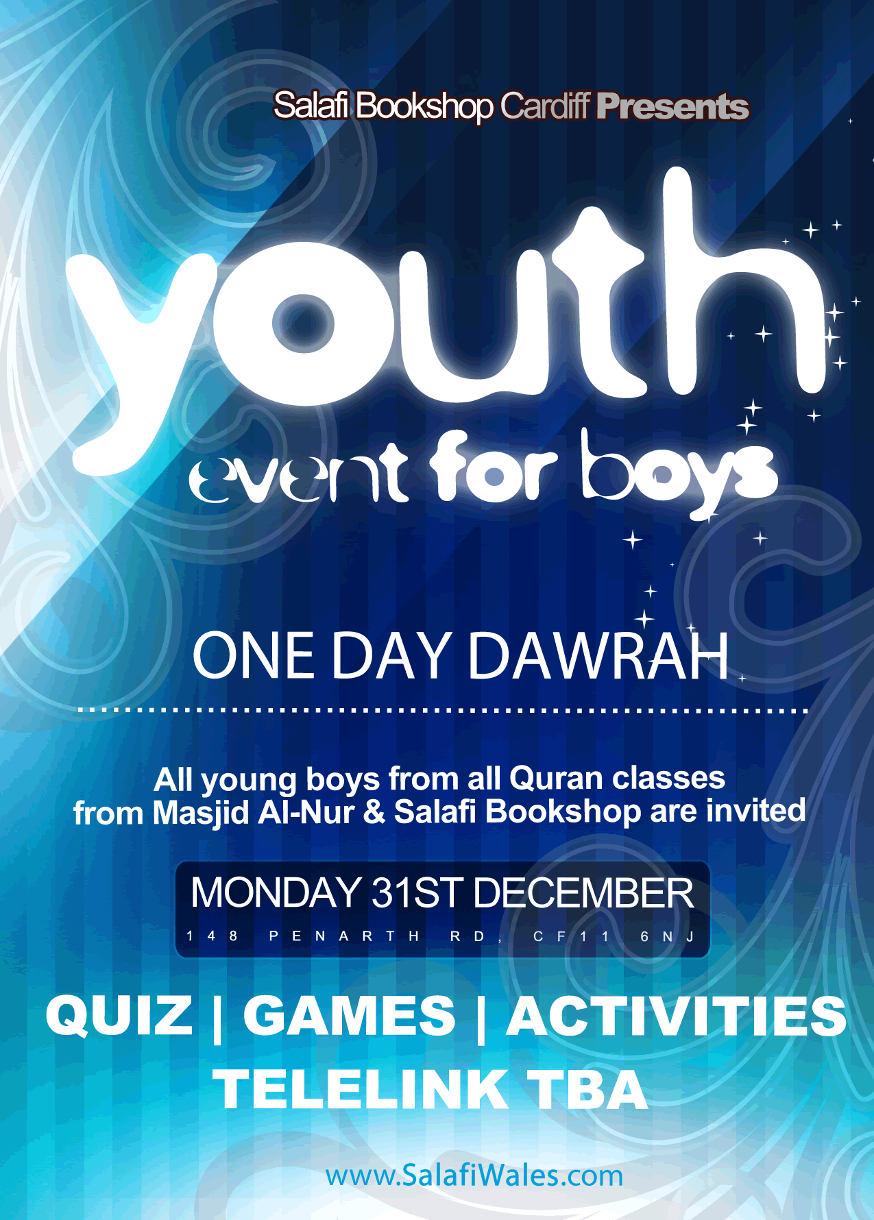 One Day Dawrah For The Muslim Youth Design Clients Quiz Me All Quran