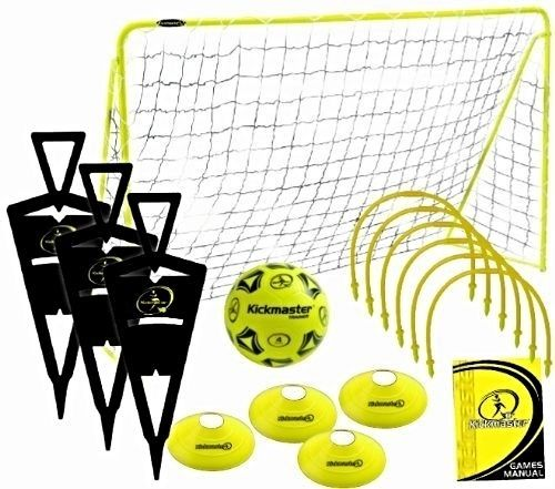 Football Soccer Practice Training Kids Goal Equipment Challenge Skills Games New Soccer Drills For Kids Football Challenges Soccer Practice