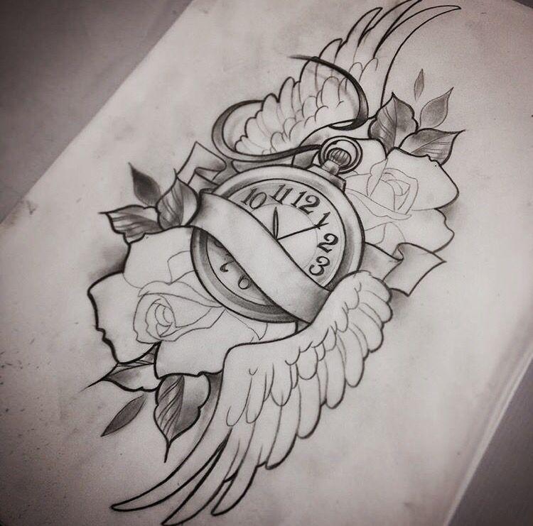 Desenhos Tatuagens Tattoo Designs Watch Tattoos Tattoos