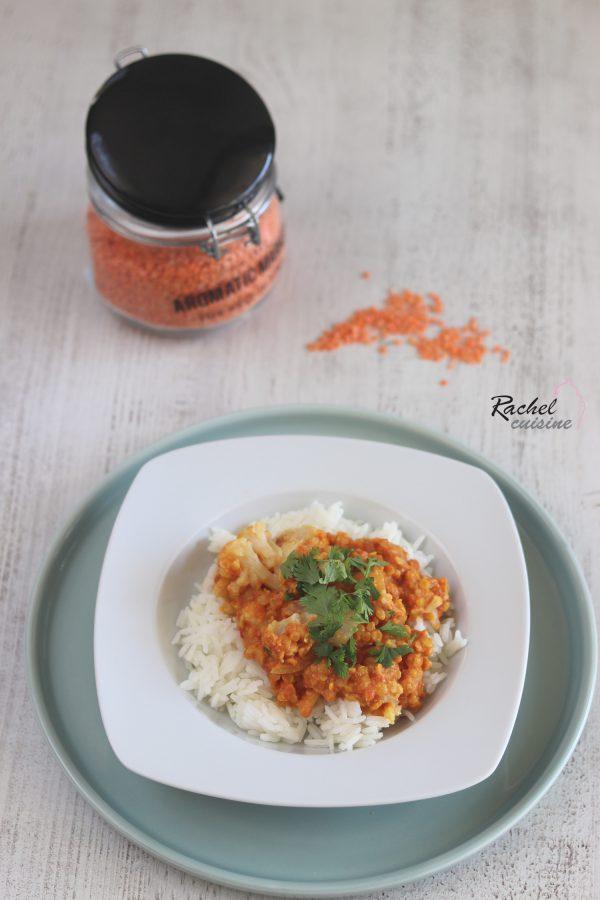 Curry De Lentilles Corail Aux Choux Fleurs Rachel Cuisine Curry De Lentilles Corail Curry De Lentilles Rachel Cuisine