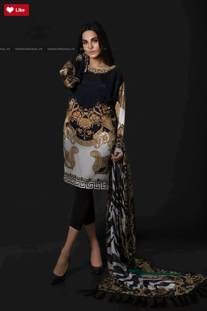 da692b3521 Maria B Silk MSK-01-Black 2018 #Maria B #Maria BMSK-01-Black 2018 #Maria  BSilk Collection #Maria B2018 #Maria Bfashion #womenfashion's #fashion ...