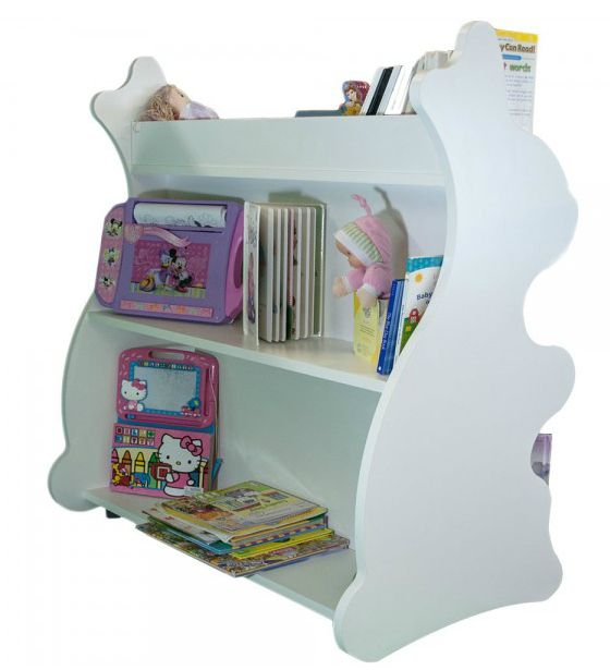 How adorable is this bunny-shaped bookcase? Perfect for a playroom!
