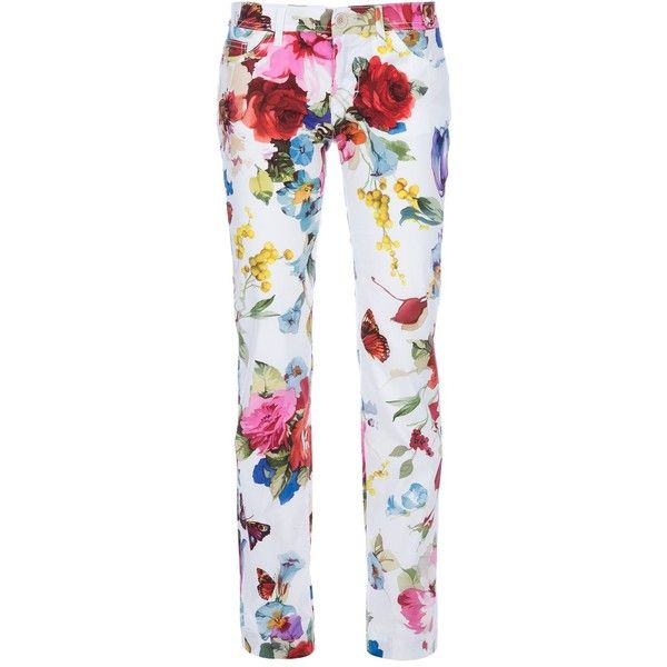 Dolce Gabbana Printed Trouser 370 Liked On Polyvore