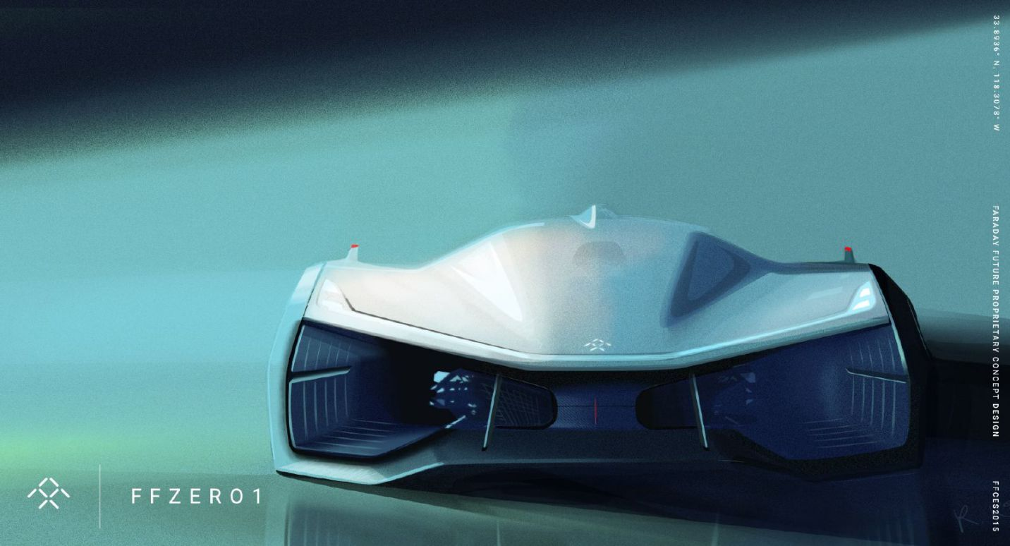 Faraday Future S Disruptive Vision Car Design Concept Car