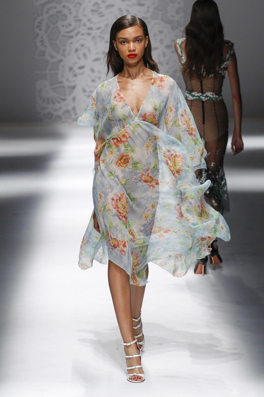 See-Through Striped Dress Spring/summer Blumarine vjnkI