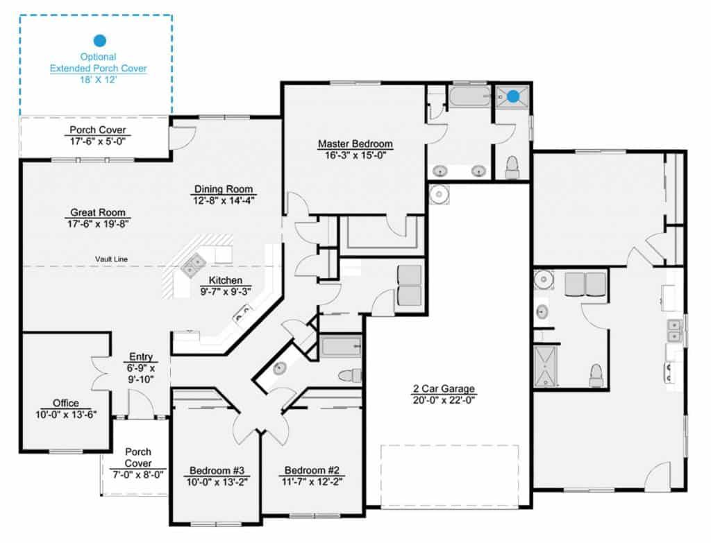 Shelby Floor Plan Signature Collection Lexar Homes Floor Plans Duplex Floor Plans House Floor Plans