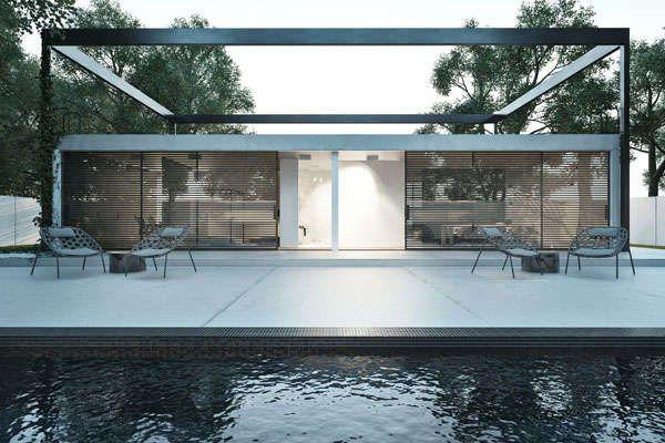 Minimalist Framed Home Designs