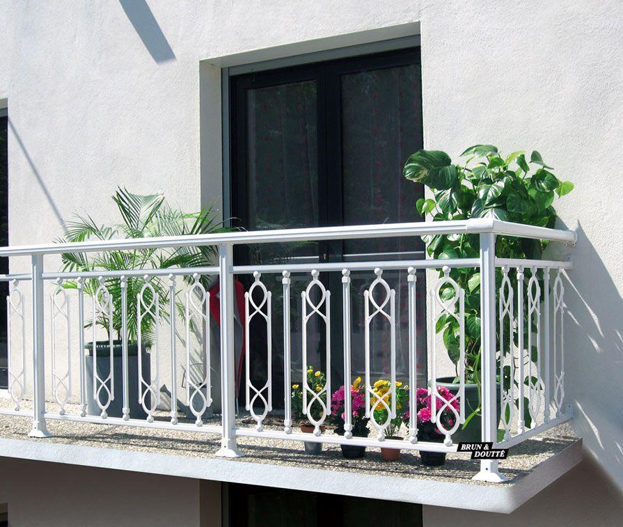 Balcon En Alu Oméga Mixte Par Brun Doutté Nos Fournisseurs - Porte placard coulissante jumelé avec serrurier bourg la reine