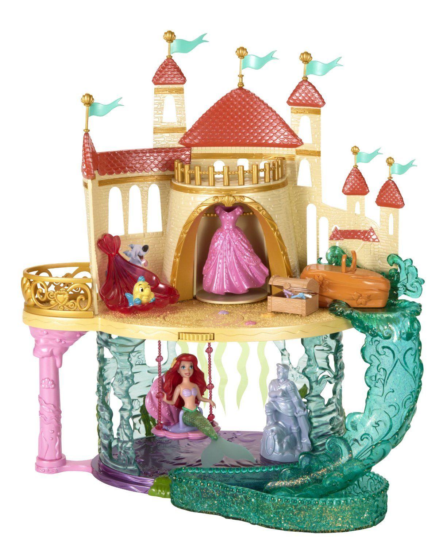 1572a4fa34596 Amazon.com : Disney Princess The Little Mermaid Castle Playset ...