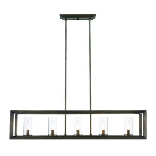 Buy The Golden Lighting GMT Gunmetal Bronze Direct Shop For Smyth 5 Light Wide Chandelier And Save
