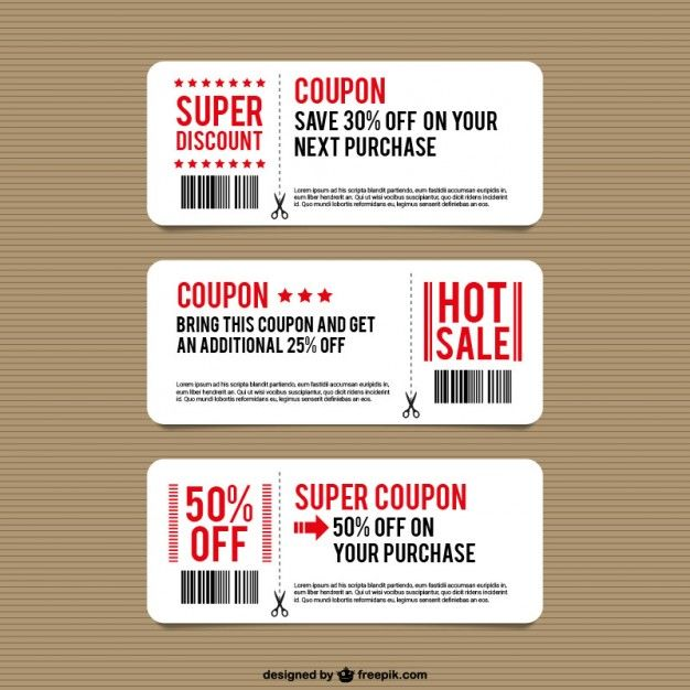 Download Discount Coupon Templates For Free In 2020 Coupon