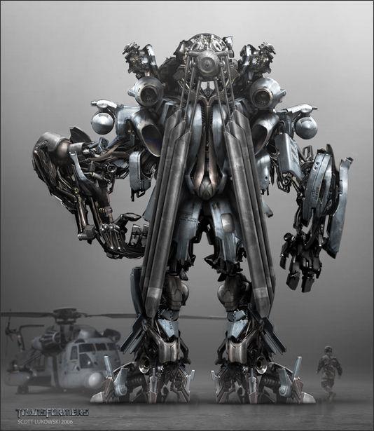 Blackout 01 Decepticon Concept Transformers 2007 Scott