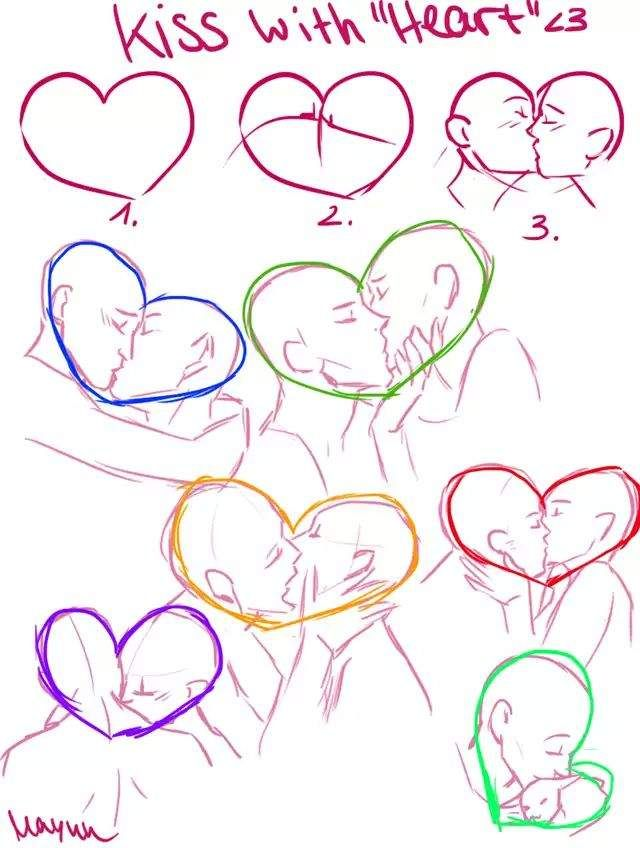 How To Draw A Hersheys Kisses, Step by Step, Drawing Guide