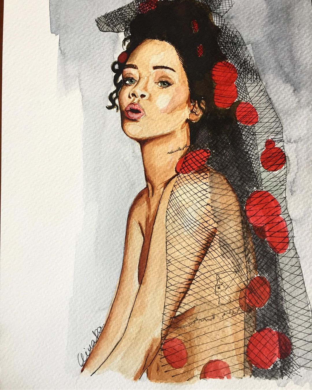 Rihanna x Elle Magazine