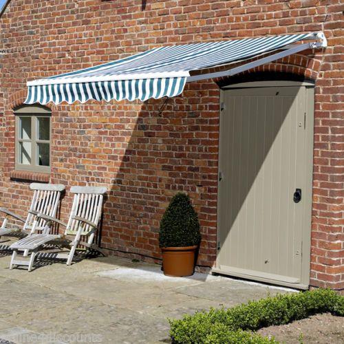 garden patio awning sun canopy sun retractable shelter shade new