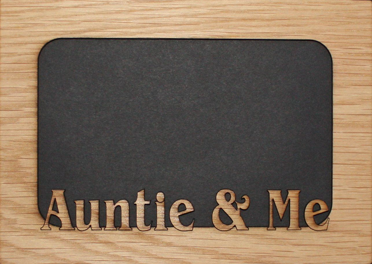 5x7 Auntie Me Mat Insert Fits Into A Picture Frame Aunt Frame