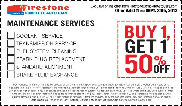 Firestone Coupons March 2020 Printable Coupons Free Printable