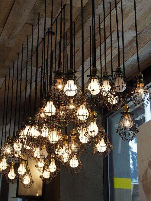 Industrial Lights Light Cage Light Creative Lighting