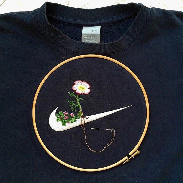 İşlemelerle Çiçek Açan Ünlü Logolar