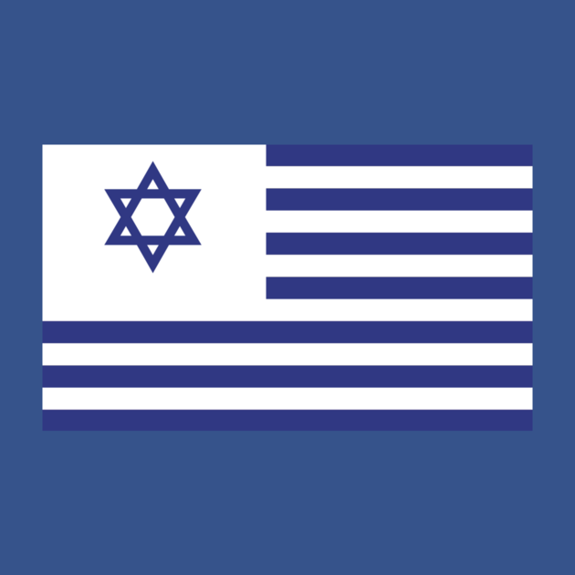 United States Of Israel By Ustshirts Flags Of The World Flag Flag Design