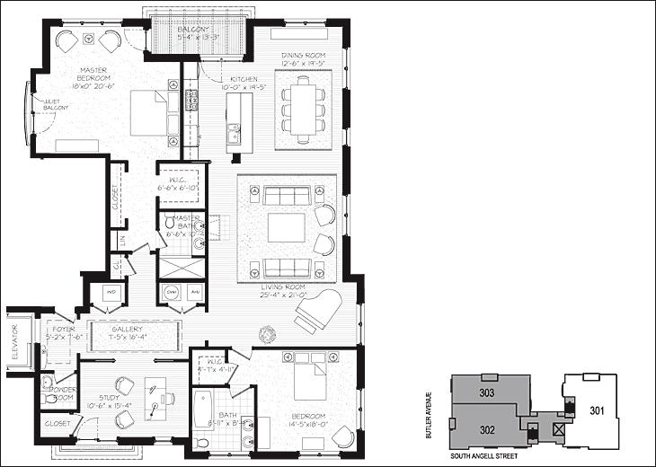 Residence 301 Condominium Design House Floor Plans Apartment Floor Plan