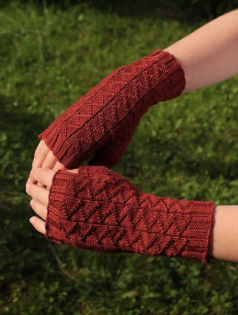 Ravelry: Project Gallery for Menelaos Mitts pattern by Teleri from ...