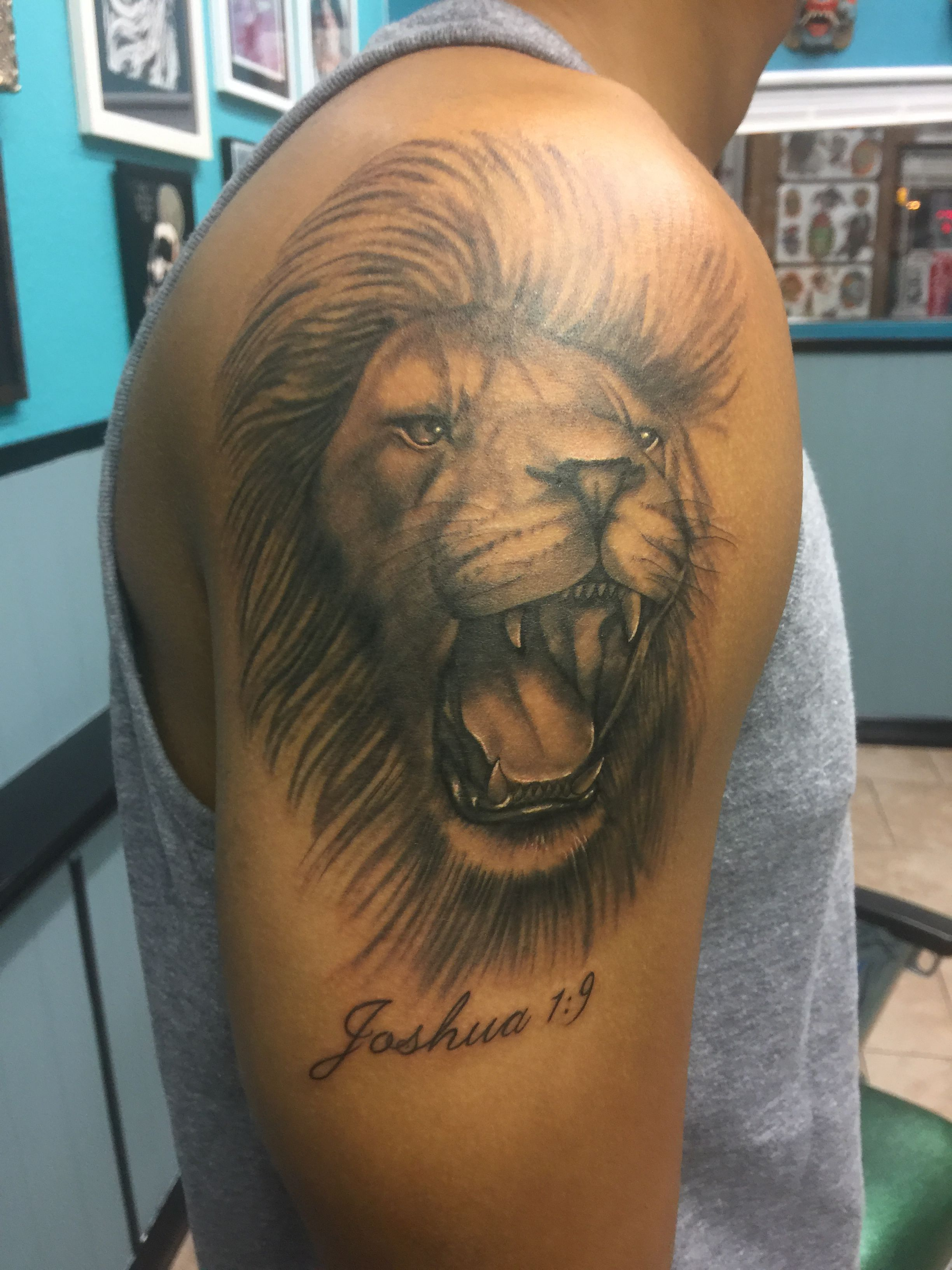 Lion tattoo firsttattoo tattoos pinterest body art and tattoo