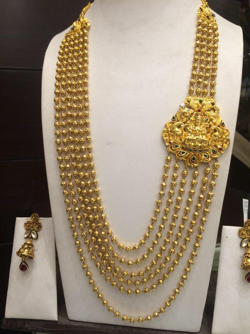 100 Gms Mala Gold Jewelry Fashion Gold Jewellery Design Necklaces Jewelry Model