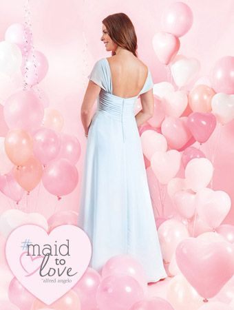 Alfred Angelo Bridal Style 7385L from #MaidToLove Bridesmaids | my ...