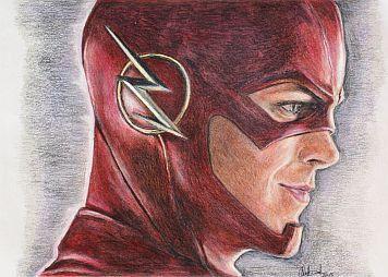 Superheroe Flash Dibujo A Lapppiz Buscar Con Google