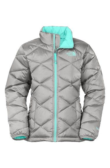 2975ae7b4 The North Face 'Aconcagua' Water Resistant Down Jacket (Big Girls ...